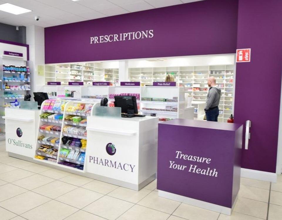 O'Sullivans Pharmacy, Douglas