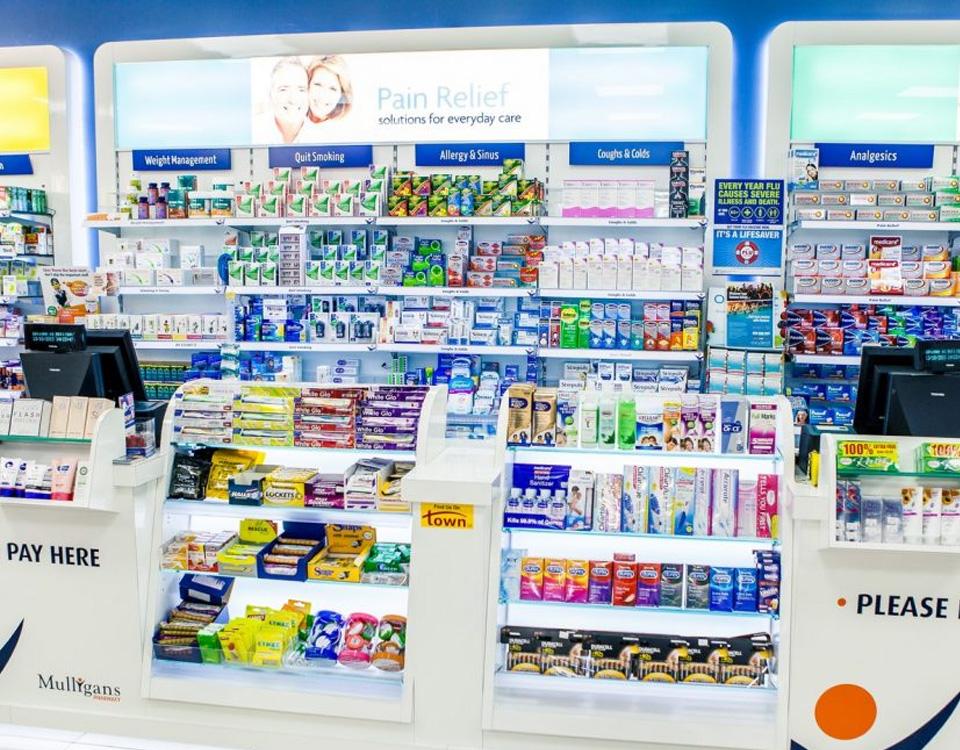 Mulligans Pharmacy Tesco, Ardkeen